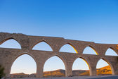 Morella aqueduct in Castellon Maestrazgo at Spain — Stock Photo