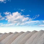 Saltworks in Alicante province Santa Pola — Stock Photo