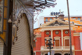 Castellon Teatro Principal theatre facade in Valencia province — Stock Photo