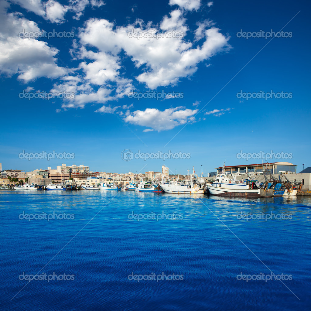 Santa Pola Spain  City new picture : Santa Pola port marina in Alicante Spain — Stock Photo © lunamarina ...