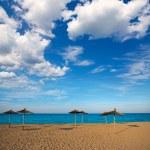 Mediterranean beach in Valencia province — Stock Photo