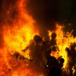 Stock Photo: Cremin Fallas ValenciMarch 19 night all figures are burn