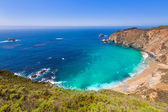 California beach in Big Sur in Monterey County Route 1 — Stock Photo