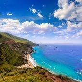 California beach in Big Sur in Monterey County Route 1 — Stock Photo