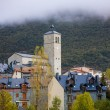 Biescas village in Huesca Aragon Pyrenees of Spain — Stock Photo #40370243
