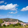 Stock Photo: JericCastellon village skyline in Alto Palanciof Spain