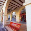 Stock Photo: JericCastellon village arches in Alto Palanciof Spain