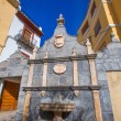 Stock Photo: JericCastellon village fountain in Alto Palanciof Spain