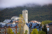 Biescas village in Huesca Aragon Pyrenees of Spain — Stock Photo