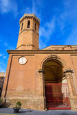 Carinena Zaragoza church Nuestra Senora de la Asuncion Spain — Stock Photo