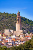 Jerica Castellon village skyline in Alto Palancia of Spain — Stock Photo