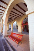 Jerica Castellon village arches in Alto Palancia of Spain — Stock Photo