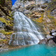 Stock Photo: Cascada Cola de Caballo at Ordesa Valley Pyrenees Spain