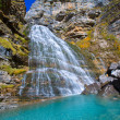 Cascada Cola de Caballo at Ordesa Valley Pyrenees Spain — Stock Photo #40383111
