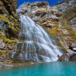 Cascada Cola de Caballo at Ordesa Valley Pyrenees Spain — Stock Photo