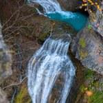 Cascada del Estrecho waterfall in Ordesa valley Pyrenees Spain — Stock Photo