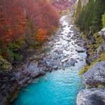 Gradas de Soaso in Arazas river Ordesa valley Pyrenees Huesca Sp — Stock Photo #40385231