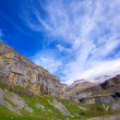 Постер, плакат: Monte Perdido and Soum Raymond at Soaso circus in Ordesa Valley