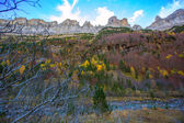 Faja de Pelay in Ordesa valley Pyrenees Huesca Spain — Stock Photo