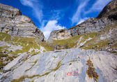 Circo de Soaso in Ordesa Valley Aragon Pyrenees spain — Stock Photo