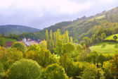 Aribe on Azcoa Valley of Pyrenees in Navarra Spain — Stock Photo