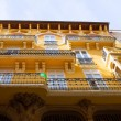 Stock Photo: Aragon Teruel Modernist buildings at Calle Nueva