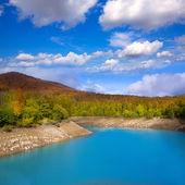 Irati Pantano de Irabia swamp in Navarra Pyrenees Spain — Stock Photo