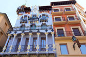 Aragon Teruel El Torico modernist building in Spain — Stock Photo