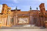 Aragon Teruel Amantes fountain in La Escalinata Spain — Stock Photo
