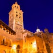 Stock Photo: Aragon Teruel Cathedral SantMariUnesco heritage Spain