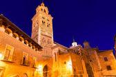 Aragon teruel katedralen santa maria unesco heritage spanien — Stockfoto