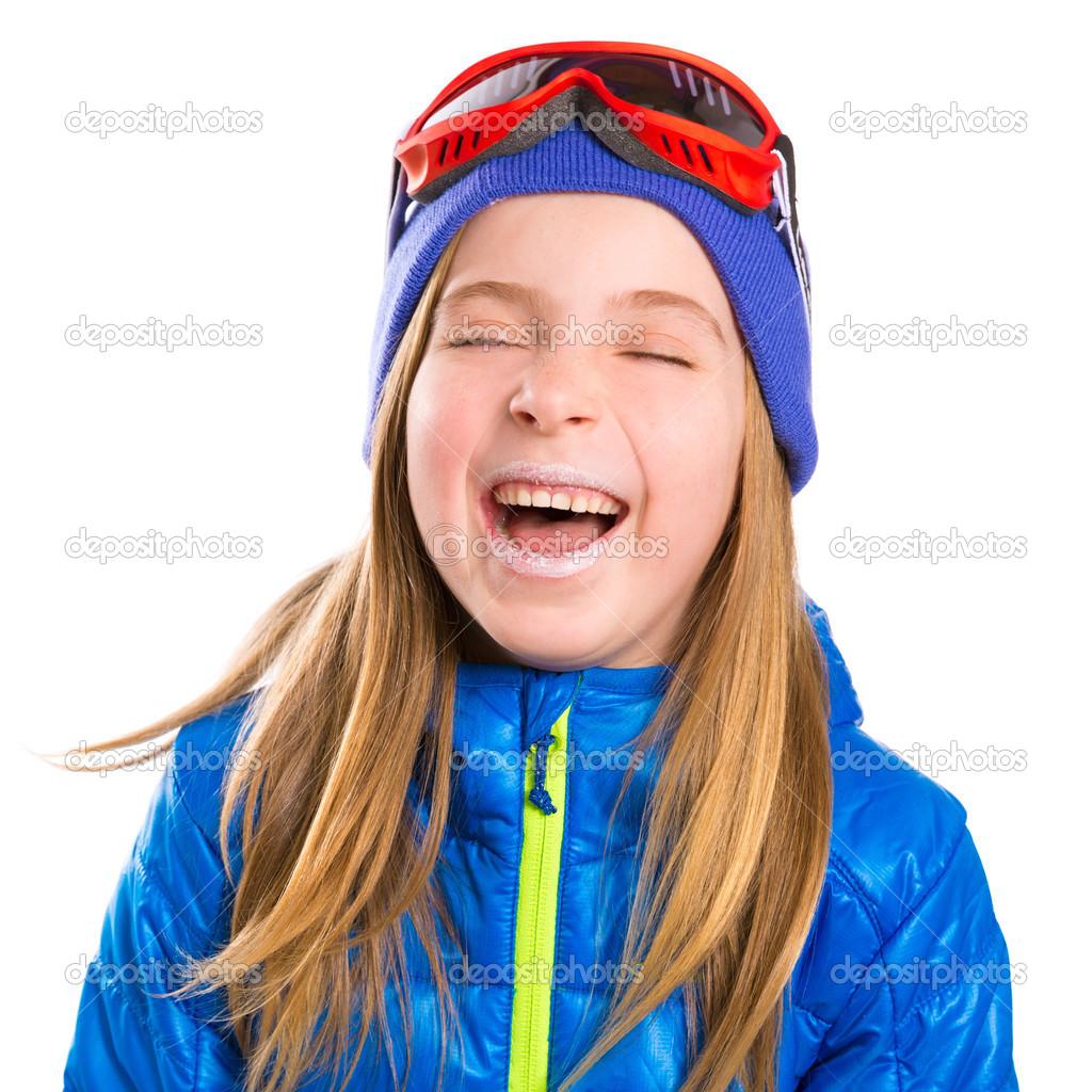 Смешные детские картинки про зиму