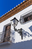 Altea old village in white typical Mediterranean at Alicante — Stock Photo