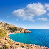 Benidorm alicante cala ti ximo playa mediterránea españa — Foto de Stock