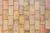 Clay ancient brick flooring texture in Alicante castle — Stock Photo