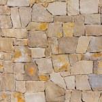 Masonry wall textre of handmade stones traditional style — Stock Photo