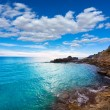 Moraira Cala Andrago beach in Teulada Alicante — Stock Photo