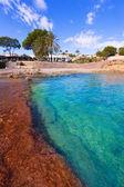 Playa de andrago cala moraira teulada alicante — Foto de Stock