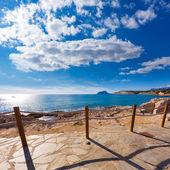 Moraira in Mediterranean Alicante at Spain — Stock Photo