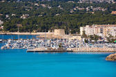 Moraira teulada marina puerto mediterráneo alicante — Foto de Stock