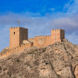 Stock Photo: Alicante Sax village castle in Spain