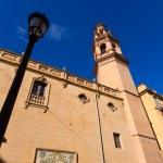 Valencia Navellos Church San Lorenzo square Spain — Stock Photo #43339087