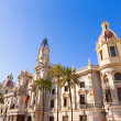 Valencia Ayuntamiento city town hall building Spain — Stock Photo #43339901