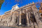 Valencia la lonja gotischen fassade unesco erbe spanien — Stockfoto