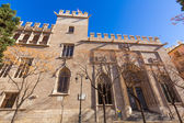 Valencia La Lonja gothic facade UNESCO heritage Spain — Stock Photo