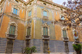 Valencia Palacio Marques de Dos Aguas palace facade — Stock Photo