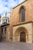 Valencia Romanesque Palau door of Cathedral Spain — Stock Photo