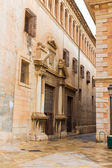 Valencia Patriarca museum in Calle Nave street Spain — Stock Photo