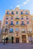 Valencia Plaza Almoina Punt de Ganxo modernist Spain — Stock Photo
