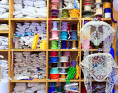 Valencia old haberdashery in Plaza Redonda at Spain — Stock Photo